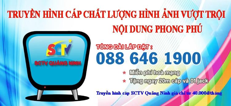 Tổng đài SCTV Quảng Ninh