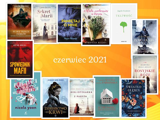 Zapowiedzi wydawnicze – czerwiec 2021