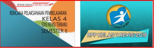 RPP Kelas 4 Semester 1 K13 revisi 2019