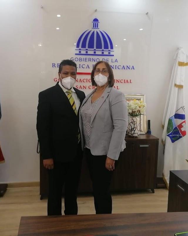Proindustria y Gobernación de San Cristóbal acuerdan proyectos en favor de la provincia