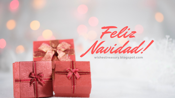 Merry Christmas greetings in spanish | Wishes Treasury