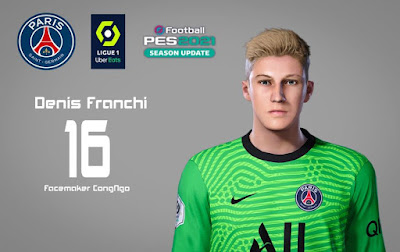 PES 2021 Faces Denis Franchi by CongNgo