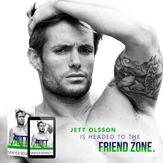 Jett Olsson is headed to the friend zone.