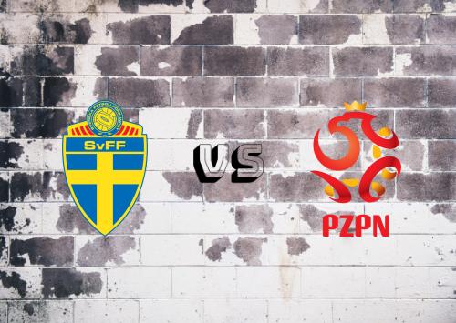Suecia vs Polonia  Resumen y Partido Completo