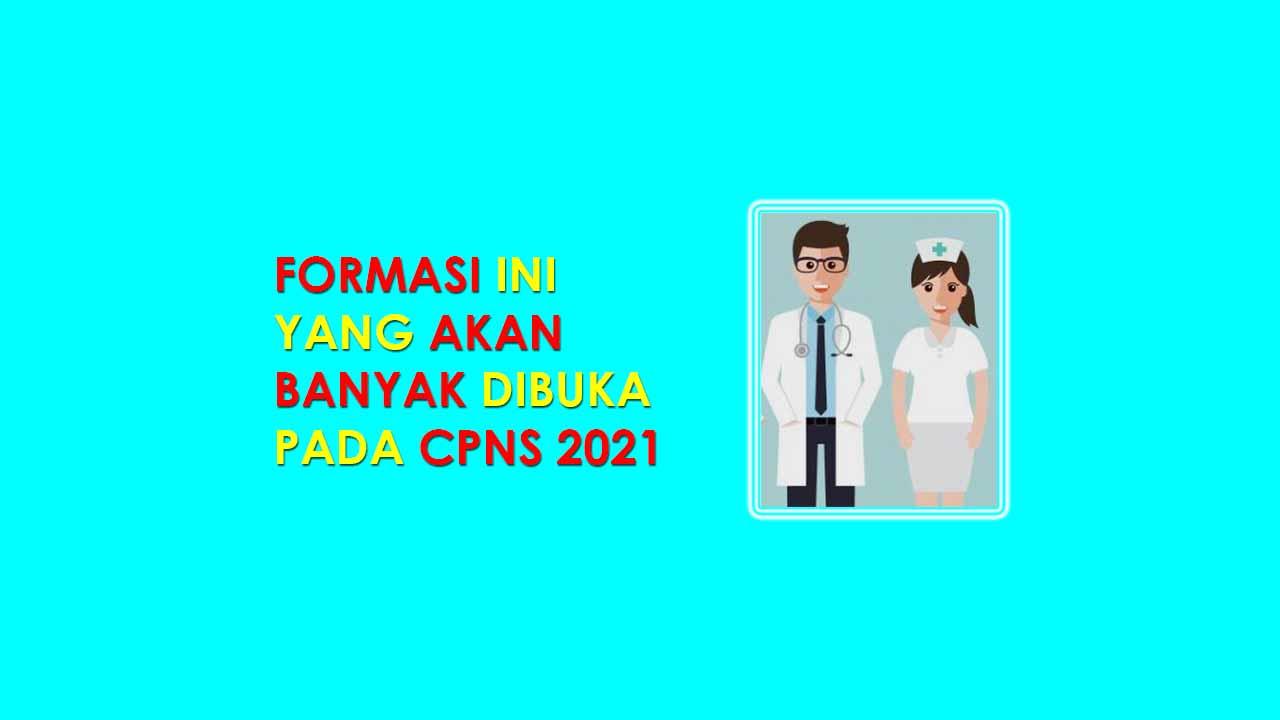 CPNS 2021 Formasi Bidang Kesehatan Berpeluang Besar