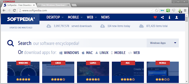 تحميل برنامج متصفح التنين للكمبيوتر مجانا Comodo Dragon