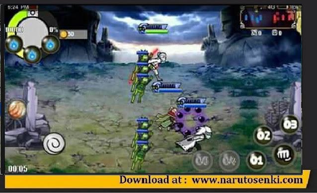 Naruto Senki Mod 15 Strongest Kage VS Otsutsuki