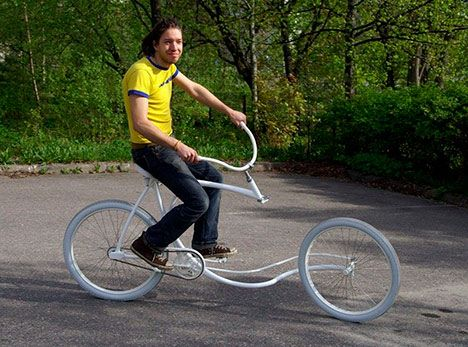 Forkless bike