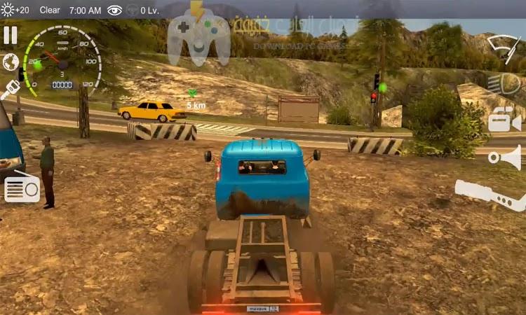 تحميل لعبة قيادة السيارات Russian Car Driver HD