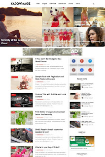 mobile friendly blogger template with no footer copyright