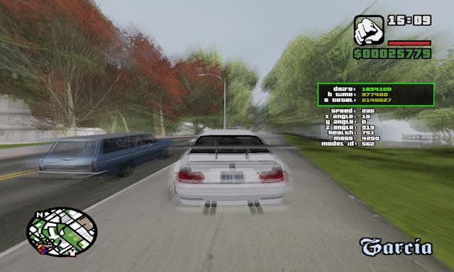 GTA San Andreas Drive Score V2 Latest Version Mod