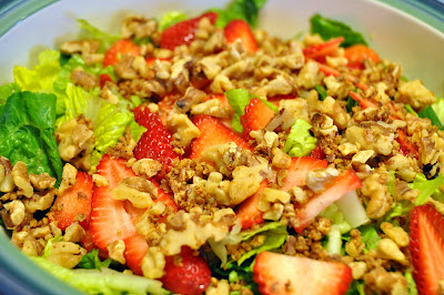 add berries to salad