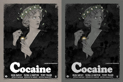 Cocaine Screen Print  by Timothy Pittides x Grey Matter Art - Regular & Variant Editions