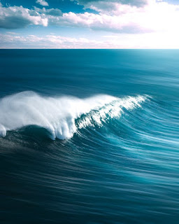 Ocean wave, Malaysia