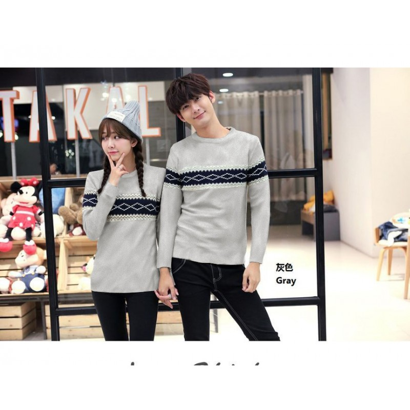 Jual Online Sweater Misty Grey Murah Jakarta Bahan Babytery Terbaru
