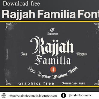 Rajjah Familia Font  Free Download
