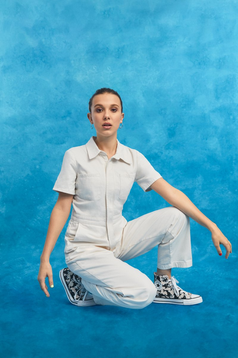 Millie Bobby Brown Teamed Up With Converse on Ocean-Inspired Sneakers Perfect for Summer