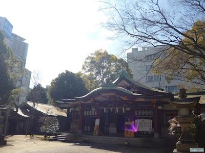 豊崎神社拝殿