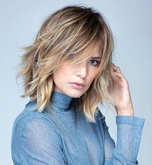 La moda en tu cabello: Cabello mediano despeinado con ...