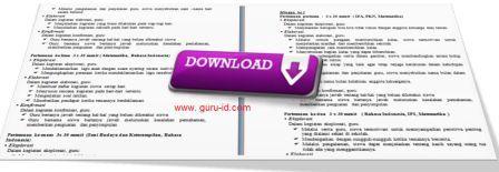 gambar download RPP kelas 1 SD KTSP terbaru