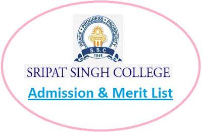 Sripat Singh College Merit List