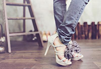 zapatos casuales de mujer para noche