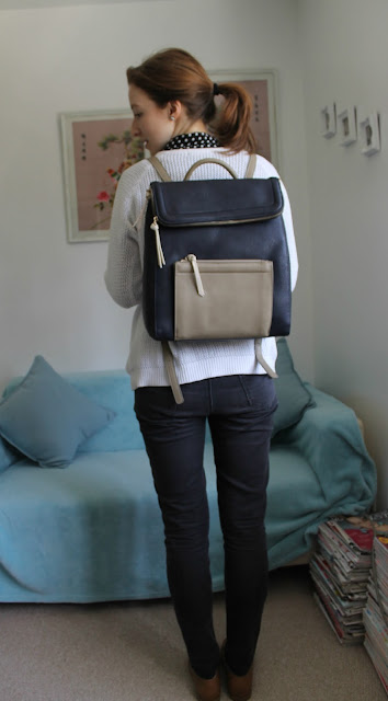 Backpack, Accessorize, Accessorize Backpack, Kira Colourblack backpack, bag, new bag, fashion, fashion blogger