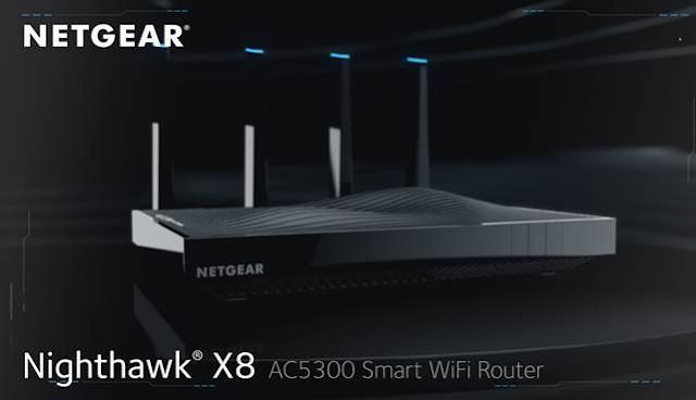 NETGEAR Nighthawk X8 AC5300 Router Firmware Download