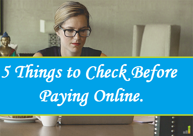 5 Useful Things To Check Before Paying Online