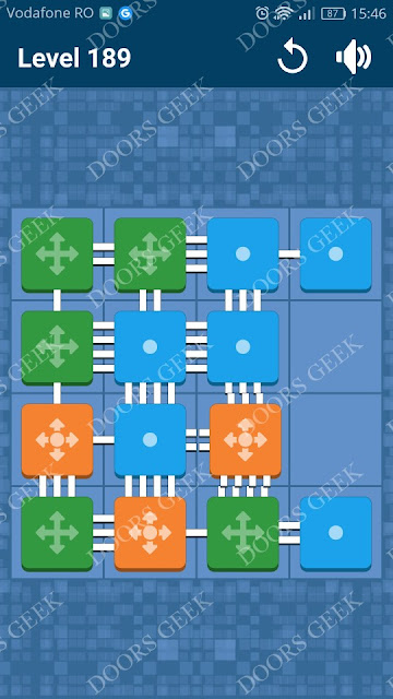 Connect Me - Logic Puzzle Level 189 Solution, Cheats, Walkthrough for android, iphone, ipad and ipod