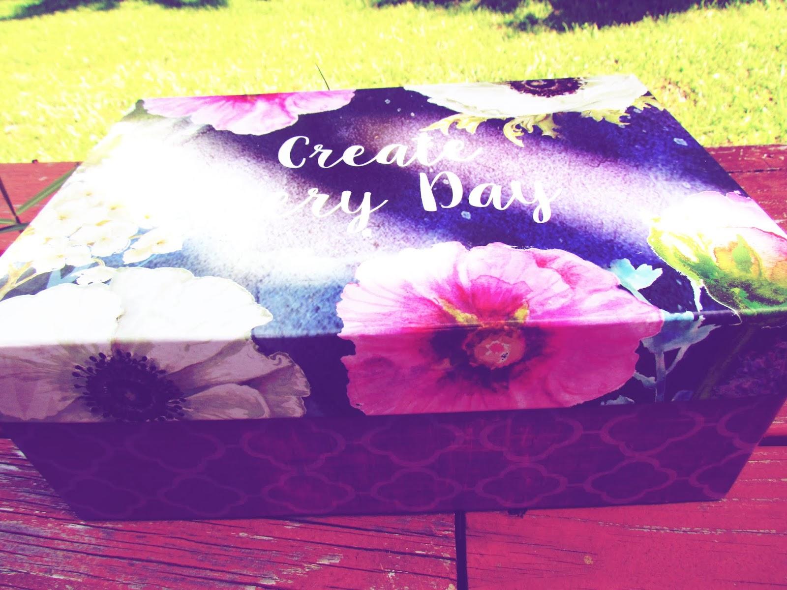 Create Every Day Art Box + Decorative Hat Box