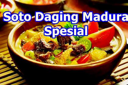 Resep Soto Daging Madura (Paling Populer)