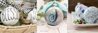 DIY ornament balls