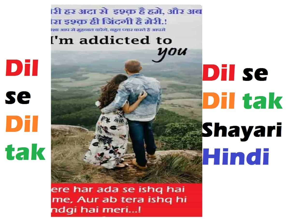 Dil se dil tak heart touching urdu love shayari in hindi for girlfriend