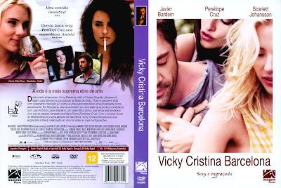 Filme Vicky Cristina Barcelona DVD Capa