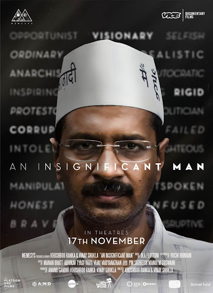 Poster of An Insignificant Man 2016 Full Movie Hindi 720p HDRip ESubs Download