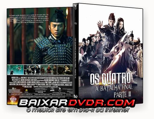OS QUATRO 3 – A BATALHA FINAL (2015) DUAL AUDIO DVD-R CUSTOM
