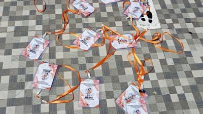 KPU Lamongan Tebang Pilih Liputan Pleno Terbuka, Wartawan Protes