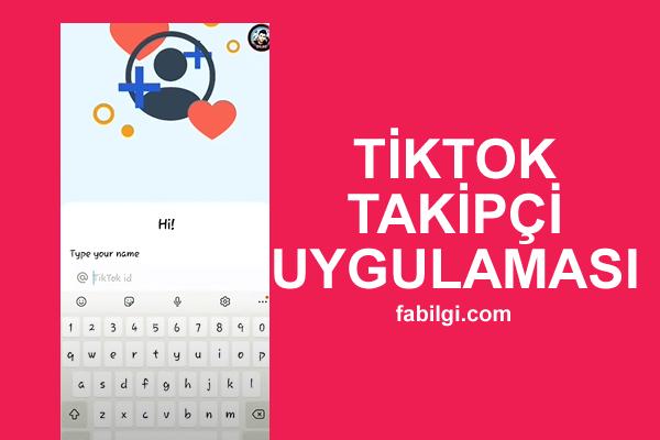 TikTok Sub Cake Uygulaması Takipçi Hilesi Bedava Nisan 2021