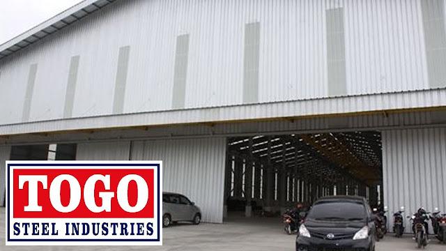 Lowongan Kerja Operator Produksi PT Togo Steel Industries Tangerang