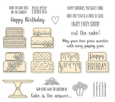 Get excited about the upcoming 2019 Occasions Catalogue. It has some awesome products in it, just like this Piece of Cake stamp set and matching bundle. Shop our range here - http://bit.ly/shopwithnarelle