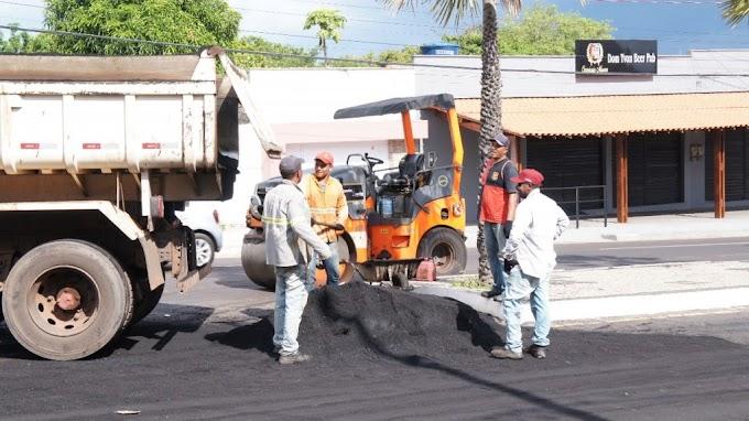 Operação Tapa Buracos é realizada na Avenida Alexandre Costa e vai para Avenida da Coheb