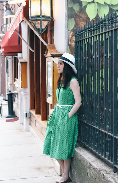Green Dress The Northern Magnolia Boston