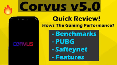Corvus 5.0   Official Build Review   Benchmarks   PUBG   More Info   Best Rom For Gaming?   POCO