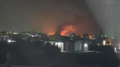 12 إصابة جراء حريق في خط أنابيب بشركة بترول في مصر