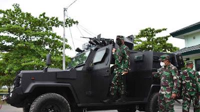 Dukung Pengamanan PON XX di Merauke, Danrem Siapkan Kendaraan Taktis
