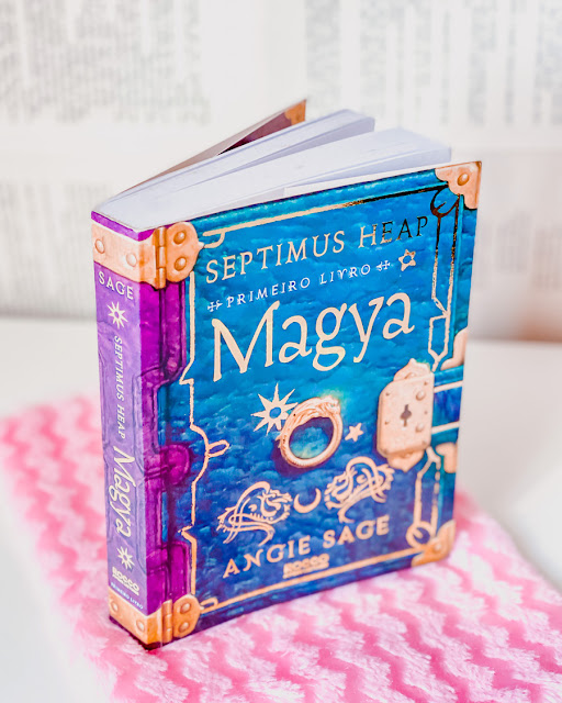 Magya - Livro 1 Septimus Heap - Angie Sage