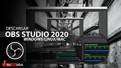 como descargar obs studio 2020