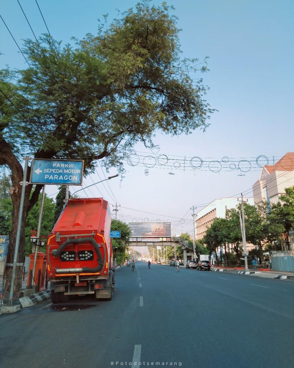 Car Free Day di Jalan Pemuda yang Sepi