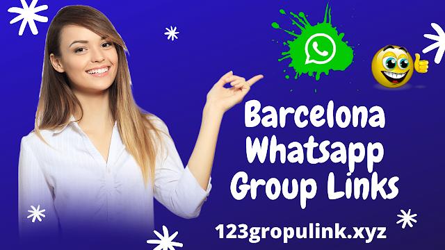 Join 800+ Barcelona Whatsapp group link